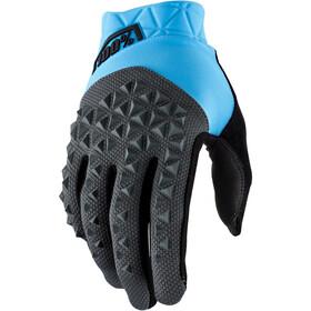 100% Geomatic Handschoenen, cyan/charcoal